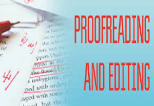 I will proofread, edit and polish 2000 words of any piece of writing